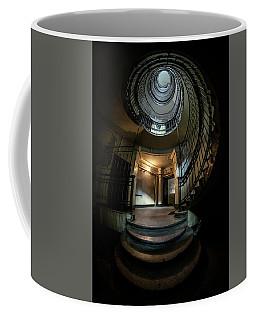 Dark Spiral Staircase Coffee Mug