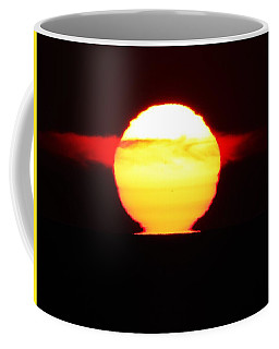 Dark Sunrise Coffee Mug by Kathy Long