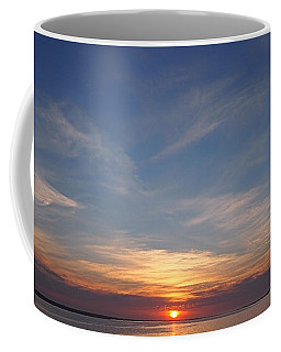 Coffee Mug featuring the photograph Dark Sunrise by  Newwwman