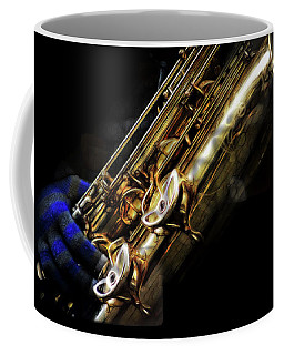 Dark Winter Sax Coffee Mug