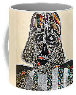 Darth Vader Star Wars Afrofuturist Collection Coffee Mug by Apanaki Temitayo M