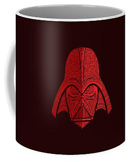 Darth Vader - Star Wars Art - Red 02 Coffee Mug