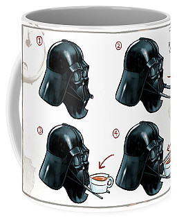 Darth Vader Tea Drinking Star Wars Coffee Mug