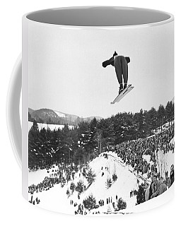 Dartmouth Carnival Ski Jumper Coffee Mug