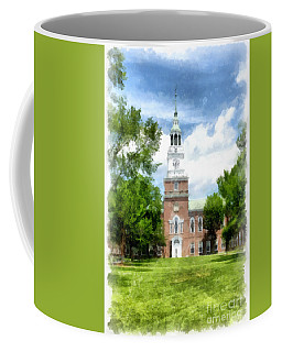 Dartmouth College Watercolor Coffee Mug