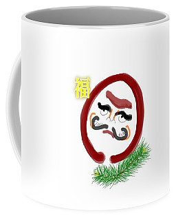 Daruma Coffee Mug
