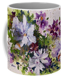 Dash Of White Coffee Mug by Helen Harris
