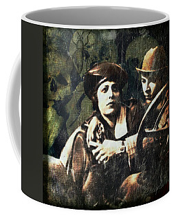 Coffee Mug featuring the digital art Date Night by Delight Worthyn