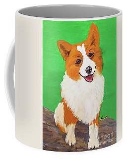 Date With Paint Feb 19 Sr Edward Coffee Mug by Ania M Milo