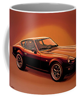 Datsun 240z 1970 Painting Coffee Mug