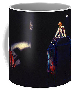 Coffee Mug featuring the photograph David Bowie Diamond by Sue Halstenberg