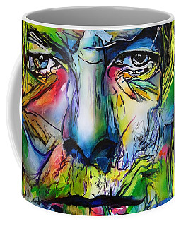 Coffee Mug featuring the painting David Bowie by Eric Dee