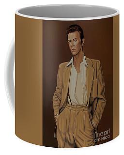 David Bowie Four Ever Coffee Mug