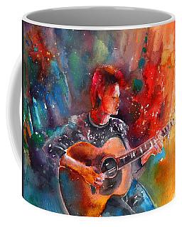 David Bowie In Space Oddity Coffee Mug