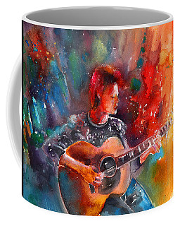 David Bowie In Space Oddity Coffee Mug
