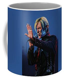 David Bowie Live Painting Coffee Mug