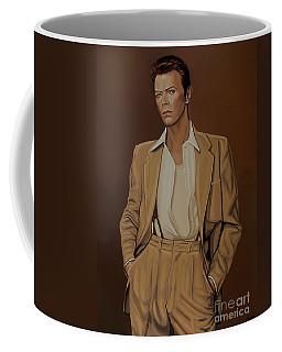 David Bowie Four Ever Coffee Mug by Paul Meijering