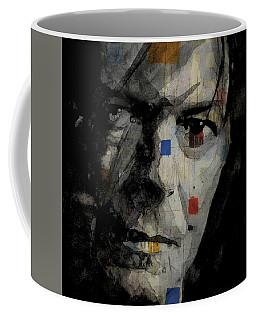 David Bowie Retro  Coffee Mug by Paul Lovering