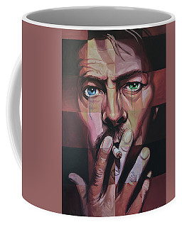 David Bowie Coffee Mug by Steve Hunter