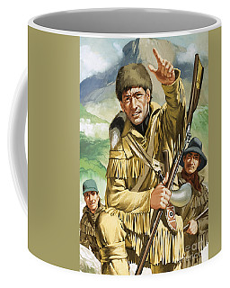 Davy Crocket Coffee Mug