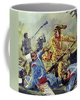 Davy Crockett Eventually Fell To The Ceaseless Mexican Attacks Coffee Mug
