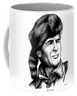 Davy Crockett Coffee Mug