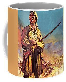 Davy Crockett  Hero Of The Alamo Coffee Mug