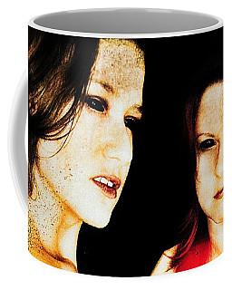 Coffee Mug featuring the digital art Dawn And Ryli 1 by Mark Baranowski