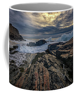 Dawn At Bald Head Cliff Coffee Mug by Rick Berk