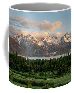 Dawn At Grand Teton National Park Coffee Mug