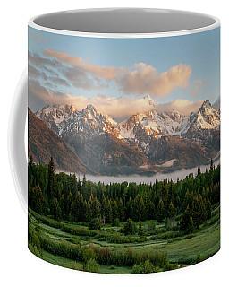 Dawn At Grand Teton National Park Coffee Mug by Brian Harig