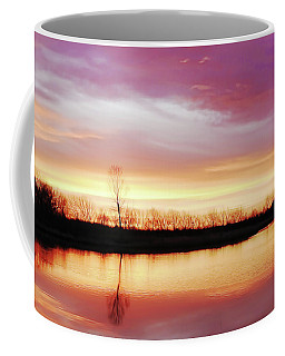 Coffee Mug featuring the photograph Dawn At Hillside by Scott Cordell