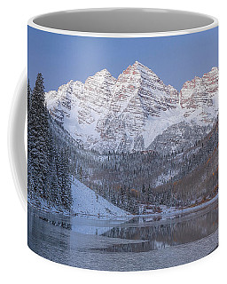 Coffee Mug featuring the photograph Dawn At Maroon Bells 2 by Jemmy Archer