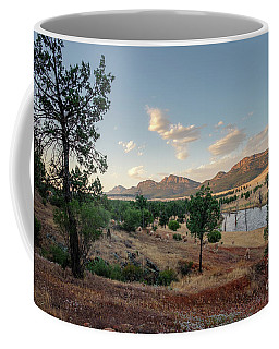 Dawn At Rawnsley Park Coffee Mug