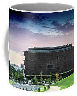 Dawn At The National Museum Of African American History And Culture.  No 1 Coffee Mug
