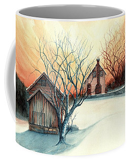 Dawn Has Spoken - Farmhouse Sunrise Coffee Mug