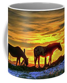 Dawn Horses Coffee Mug