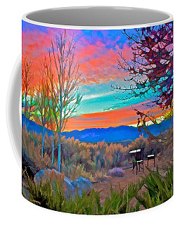 Dawn In El Prado  Coffee Mug