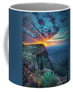 Dawn In The Chisos Coffee Mug