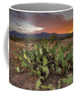 Dawn In The Desert Coffee Mug
