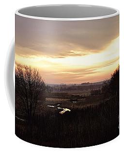 Dawn In The Valley Coffee Mug