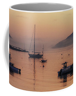 Dawn Of A New Day On Mt. Desert Island  Coffee Mug