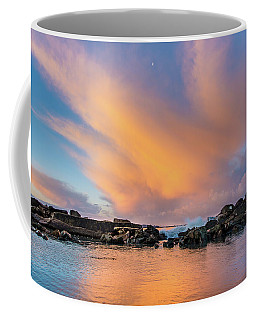 Dawn Of Cloud At North Jetty Coffee Mug