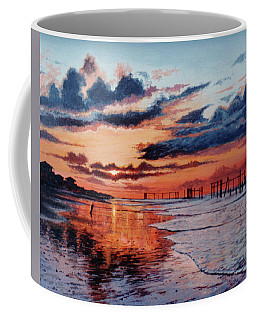 Dawn On Crystal Beach Coffee Mug