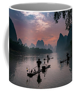 Waiting For Sunrise On Lee River. Coffee Mug