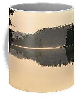 Dawn On Ottertrack Lake Coffee Mug