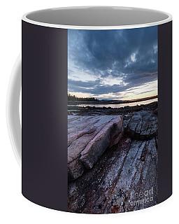 Dawn On The Shore In Southwest Harbor, Maine  #40140-40142 Coffee Mug
