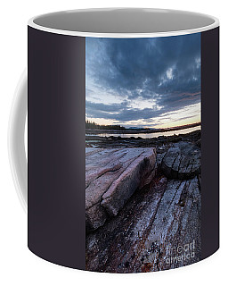 Dawn On The Shore In Southwest Harbor, Maine  #40140-40142 Coffee Mug