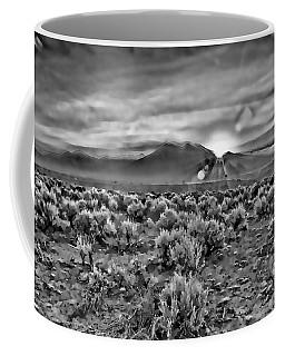 Dawn Over Magic Taos In B-w Coffee Mug