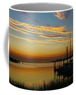 Dawn Over The Bay Coffee Mug